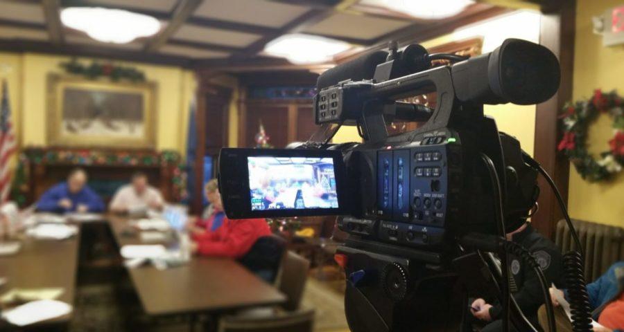 camera at meeting