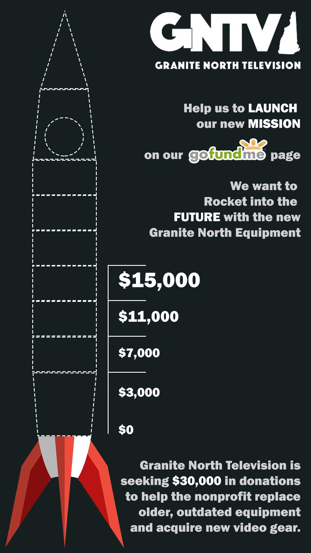 gofundme campaign rocket